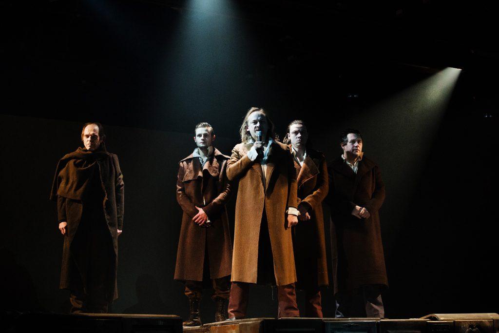 """Den Haag, 11-02-2013. Beeld uit de voorstelling """"Schiller"""" regie David Geysen Foto: Leo van Velzen."""